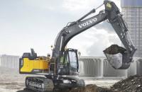 Гусеничный экскаватор Volvo EC160E
