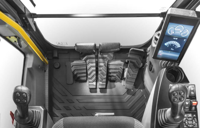 Салон Volvo EC160E