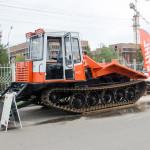 Трактор лесопромышленный трелевочный с толкателем Прогресс МСН-10-04