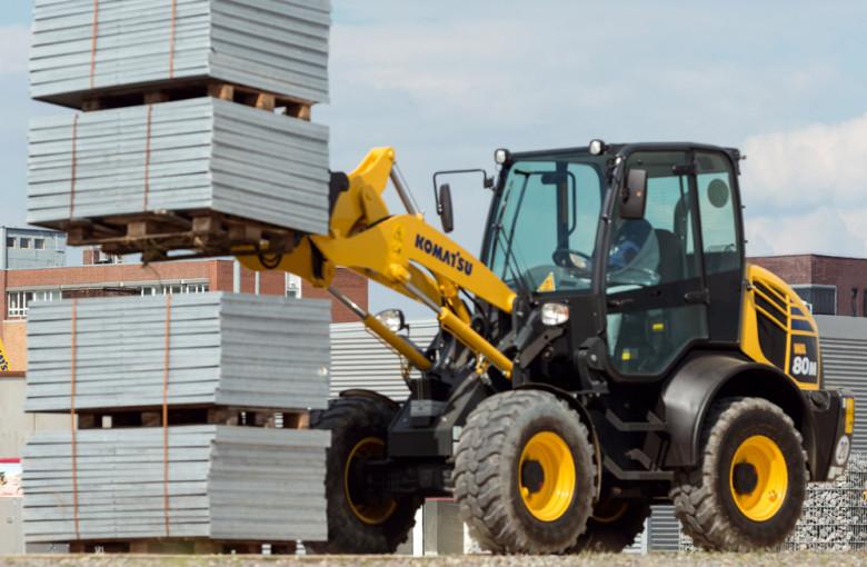 Transportation of cargo on the pallet forks installed