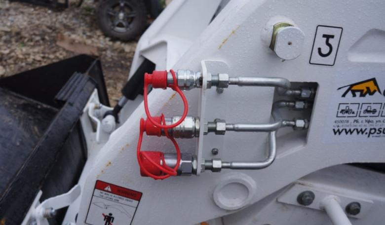 Гидравлические узлы на Bobcat 130