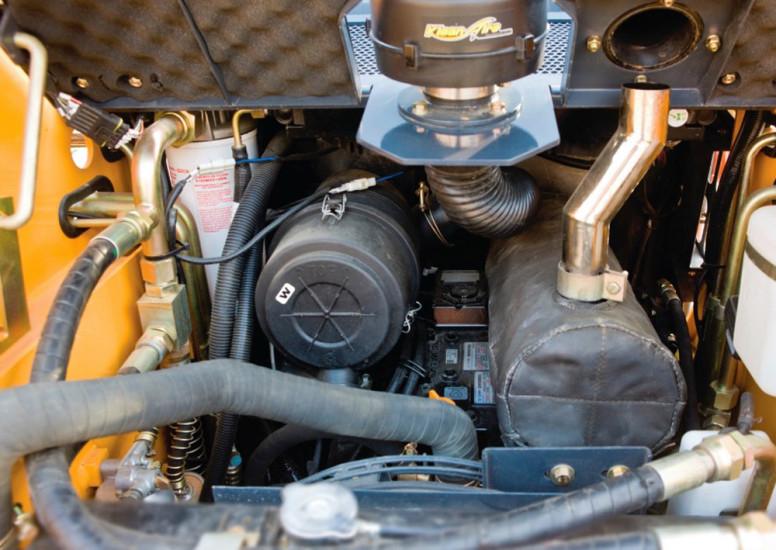 Двигатель LiuGong CLG365A