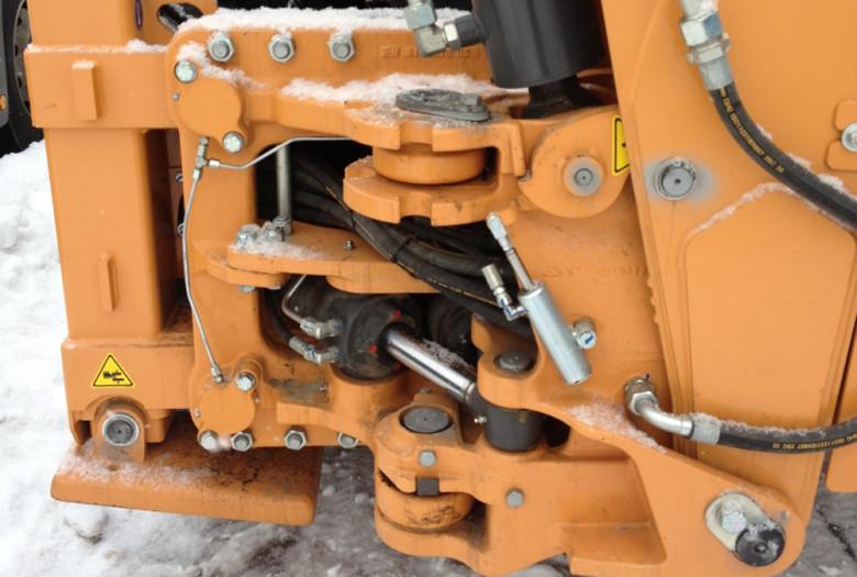 Гидравлические узлы Case 580. Фото