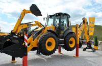 Трактор JCB 5CX. Демонстрация возможностей
