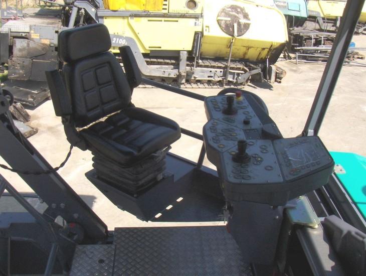 Место оператора машины
