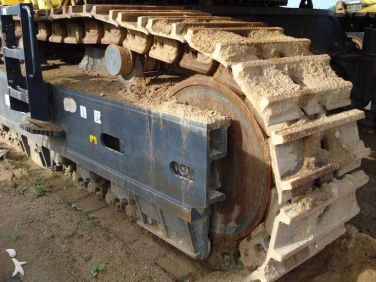 Гусеница Komatsu PC1250. Фото