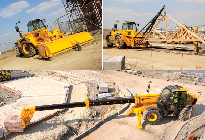 Навесное оборудование JCB Loadall 535-125