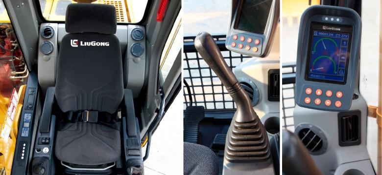 Кресло оператора и система управления Liugong CLG925D