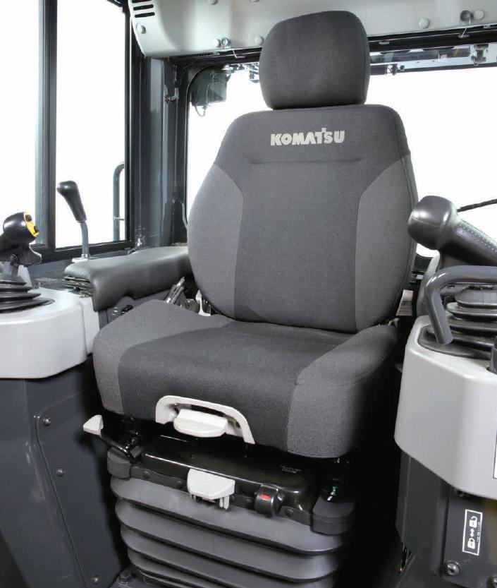 Удобное кресло оператора с подогревом