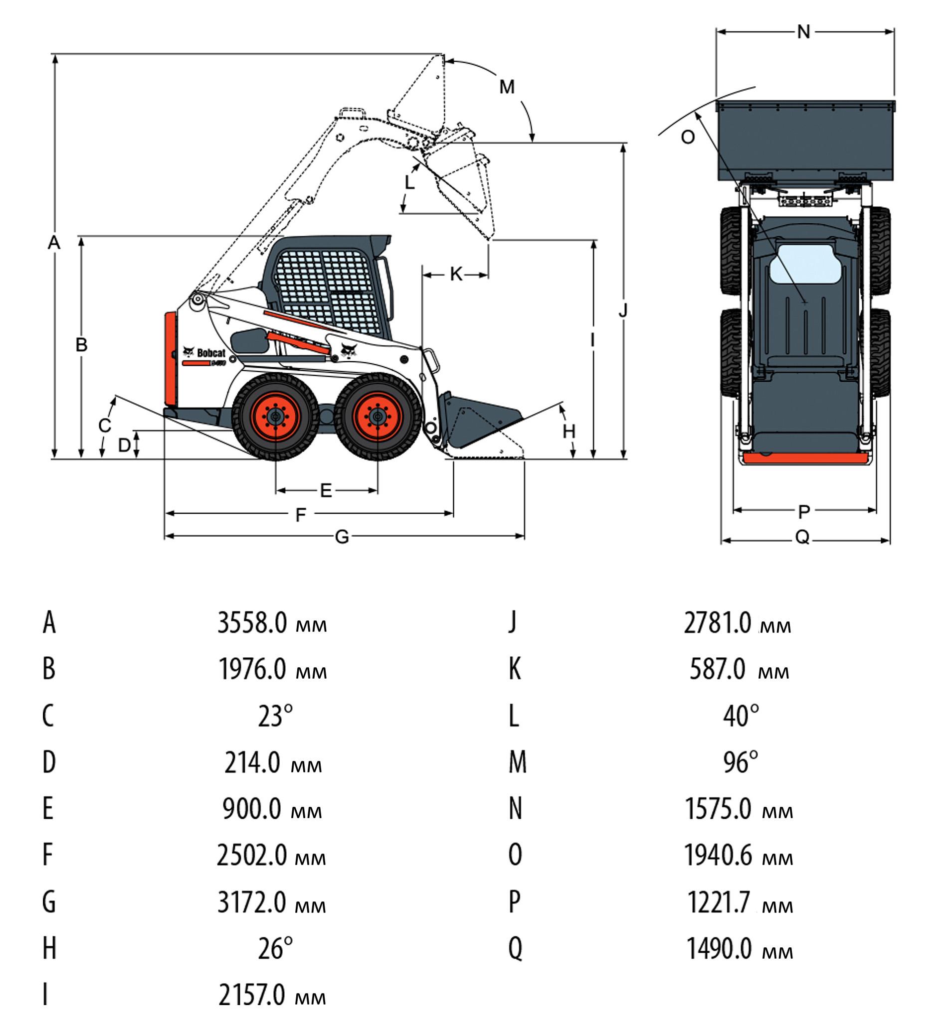 гидравлическая схема bobcat