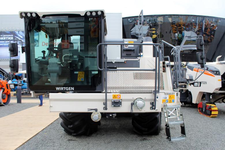 Кабина оператора Wirtgen WR 240