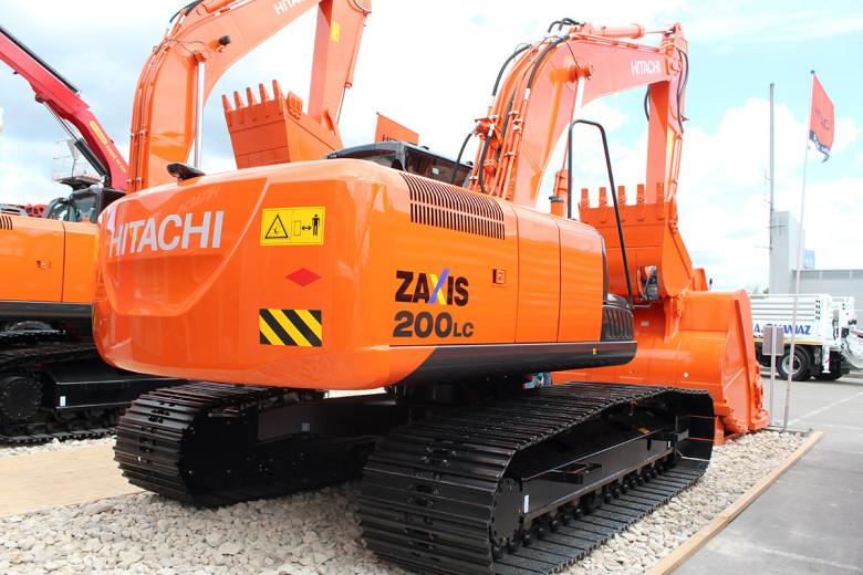 Экскаватор Hitachi ZX 200