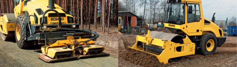 Рабочее оборудование Bomag 2013